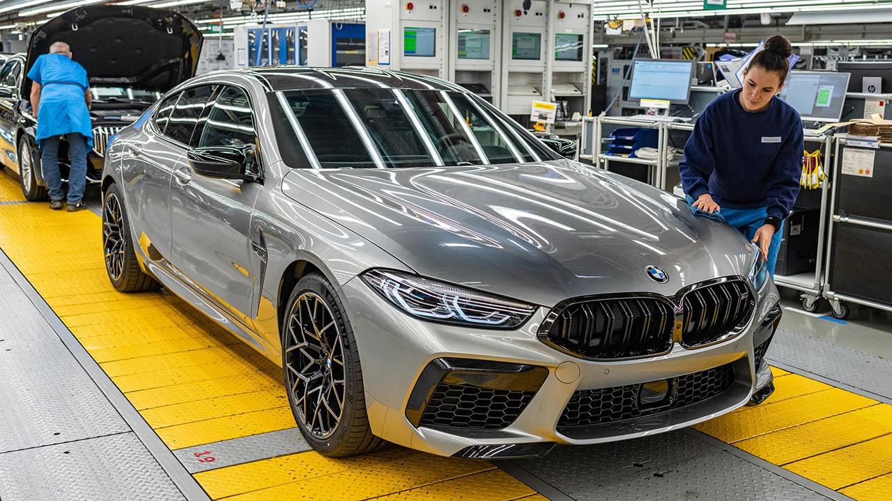 El nuevo BMW M8 Gran Coupé ya está siendo producido, llegará al mercado en 2020