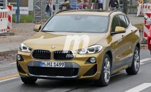 El nuevo BMW X2 híbrido enchufable al descubierto en estas fotos espía