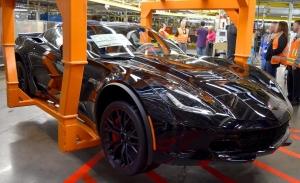 El último Chevrolet Corvette C7 sale de la cadena de montaje