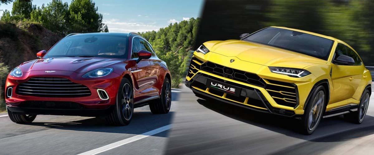 Aston Martin DBX vs Lamborghini Urus ¿cuál es mejor?