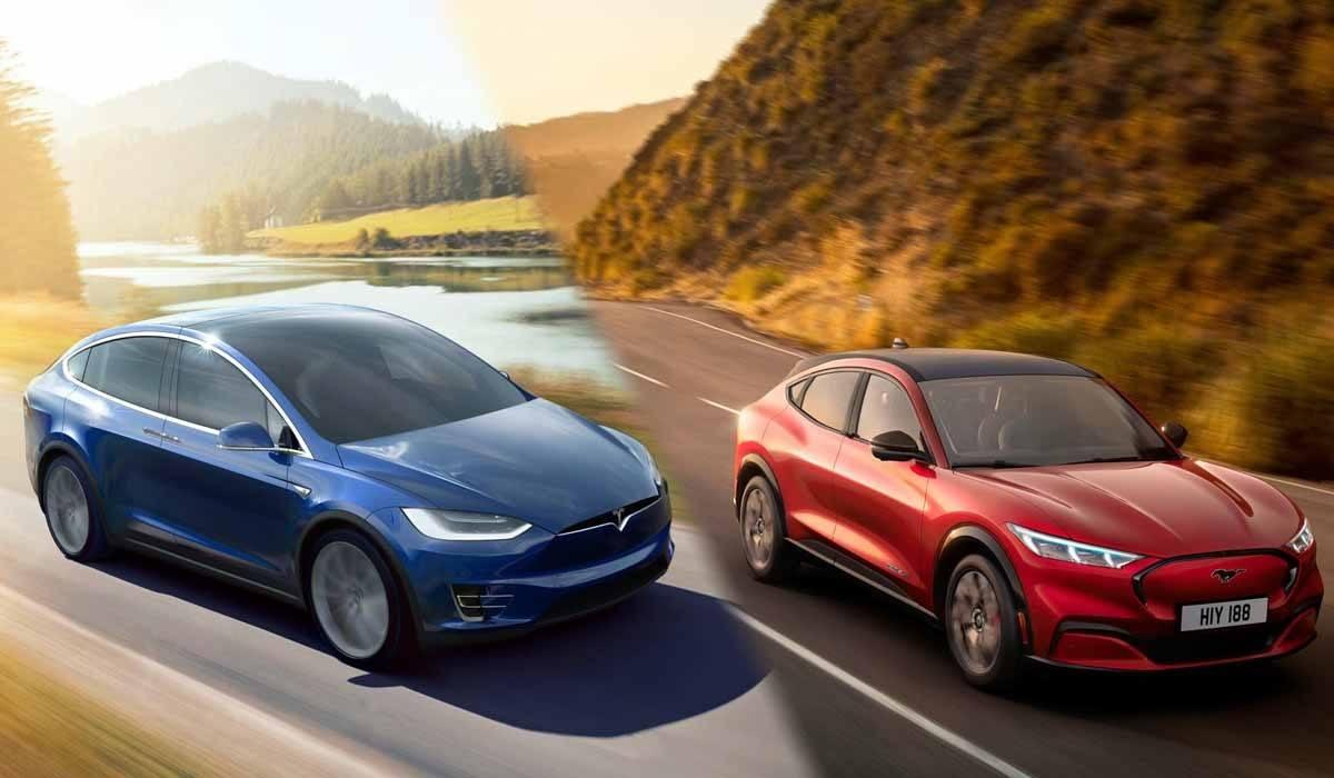 Ford Mustang Mach-E vs Tesla Model X, ¿cuál es mejor?