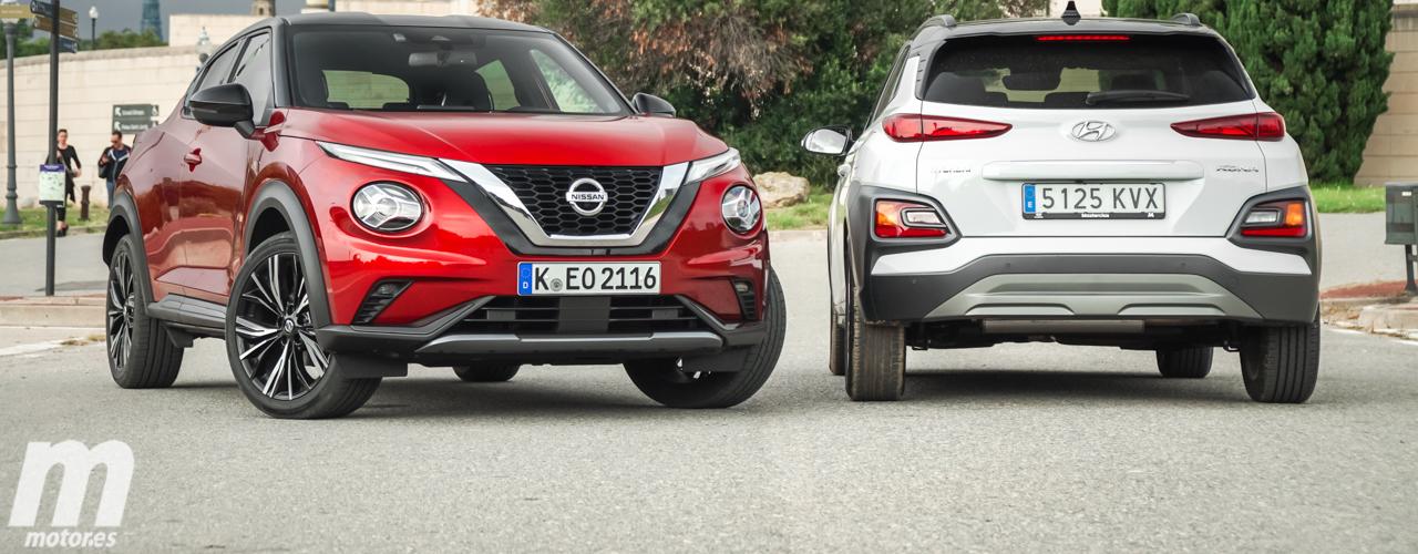 Comparativa Nissan Juke 2020 vs Hyundai KONA (Con vídeo)