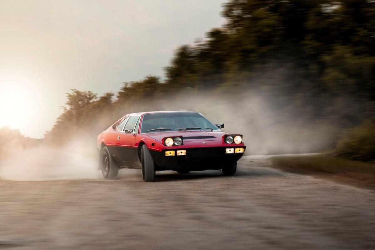 Este Ferrari Dino 308 GT4 'Safari' es un Lancia Stratos hipervitaminado