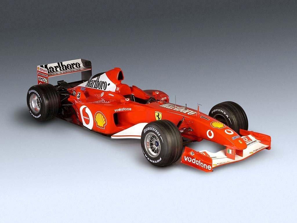 A subasta uno de los Ferrari F2002 de Michael Schumacher