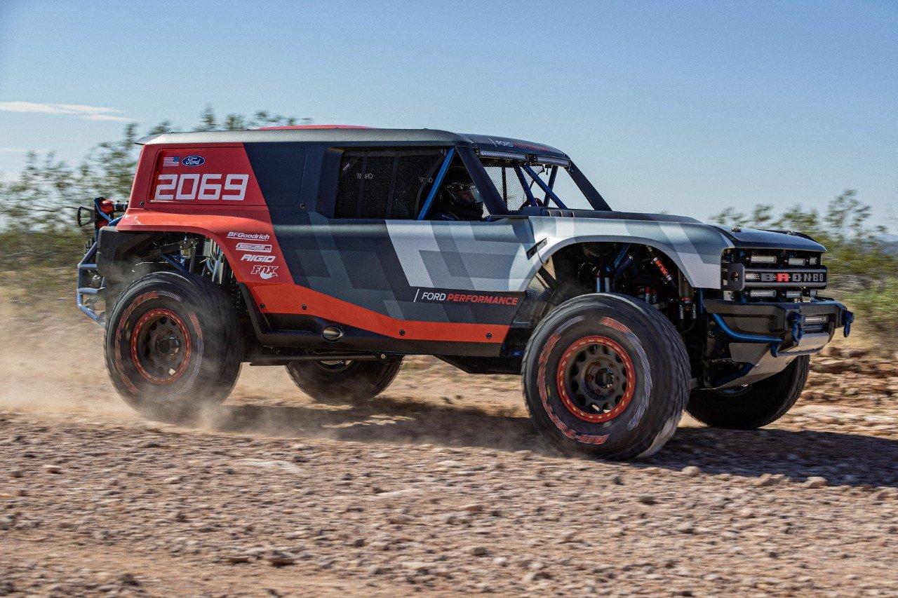 El Ford Bronco R Prototype adelanta el modelo de producción