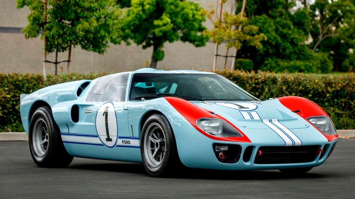 El Ford GT40 empleado en la película Le Mans '66 a subasta