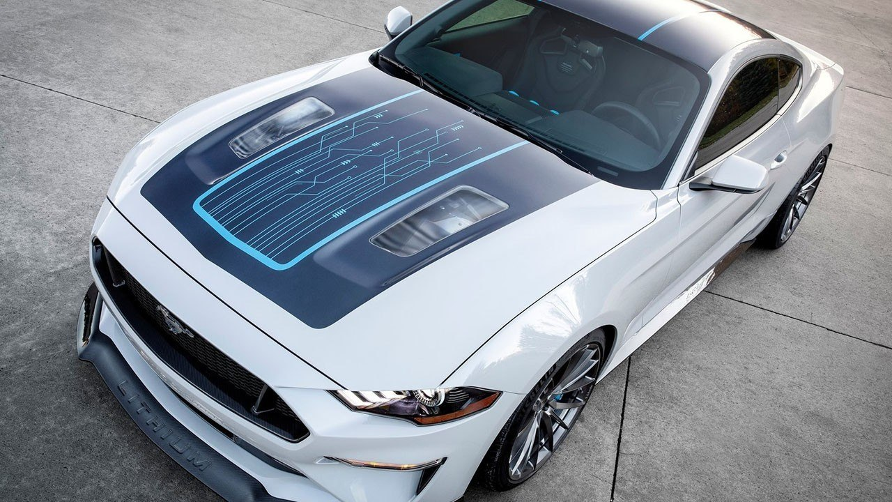 Ford Mustang Lithium (SEMA 2019) 8
