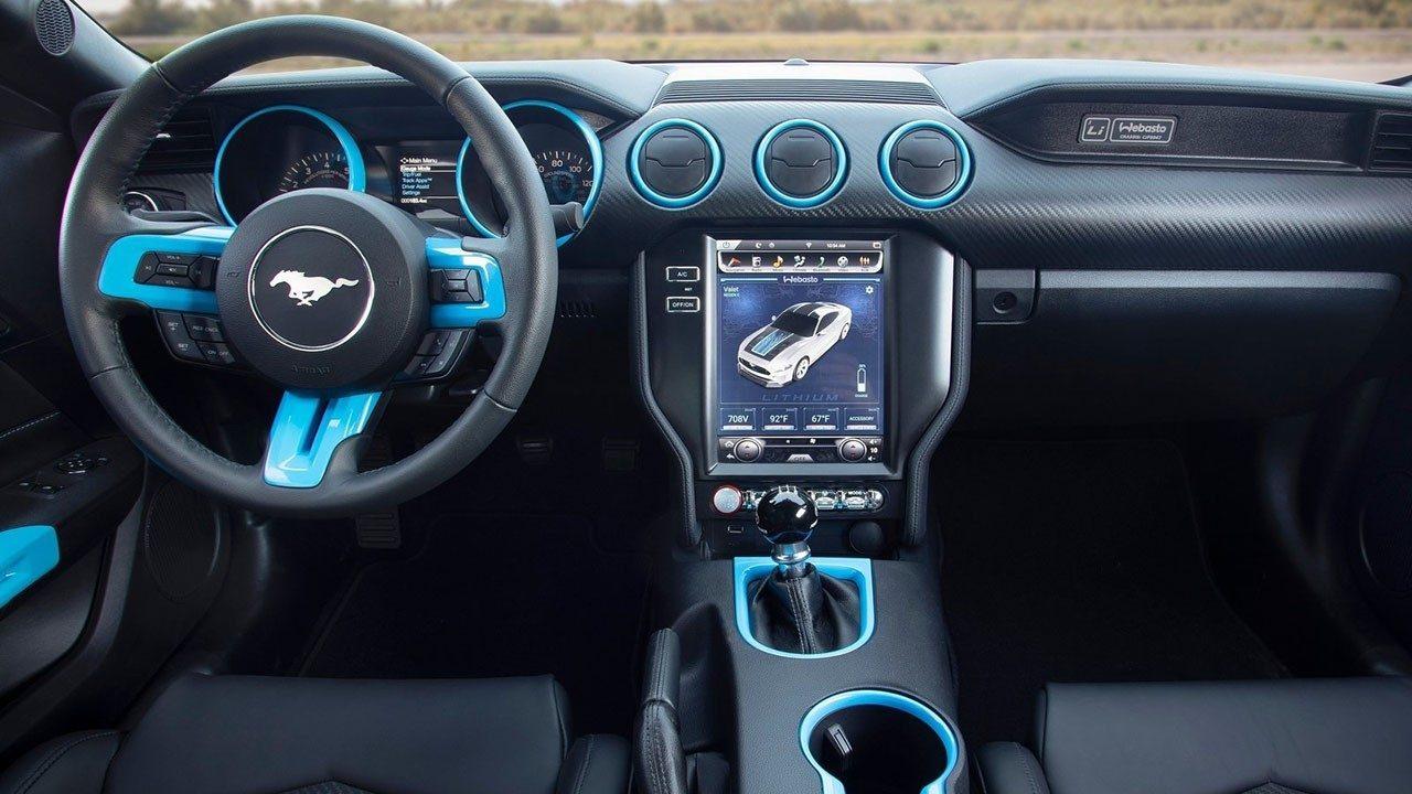 Ford Mustang Lithium (SEMA 2019) 9