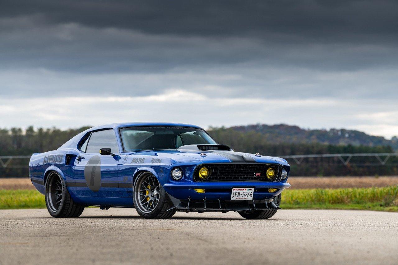 El radical Ford Mustang Mach 1 de Ringbrothers esconde un V8 de 8.5 litros
