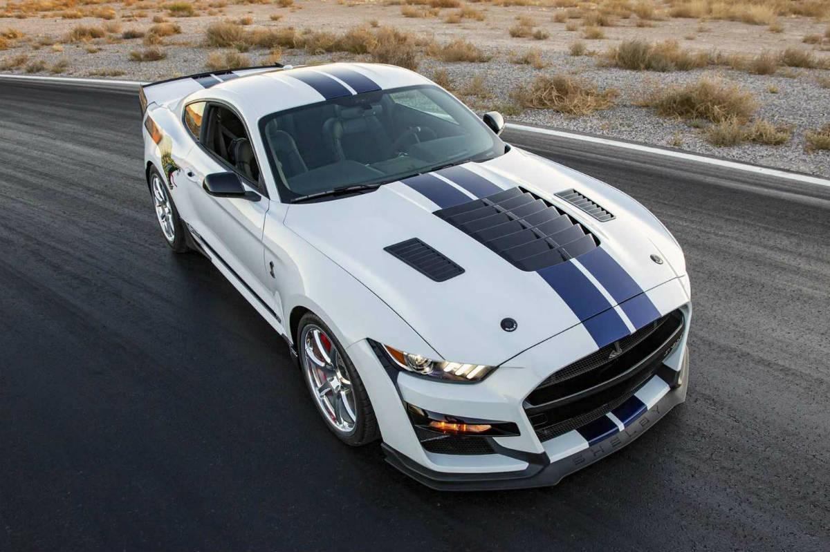 Nuevo Shelby Mustang GT500 Dragon Snake de 811 CV