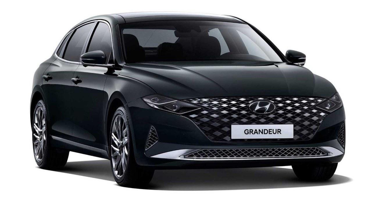 Desvelado el llamativo facelift del Hyundai Grandeur 2020