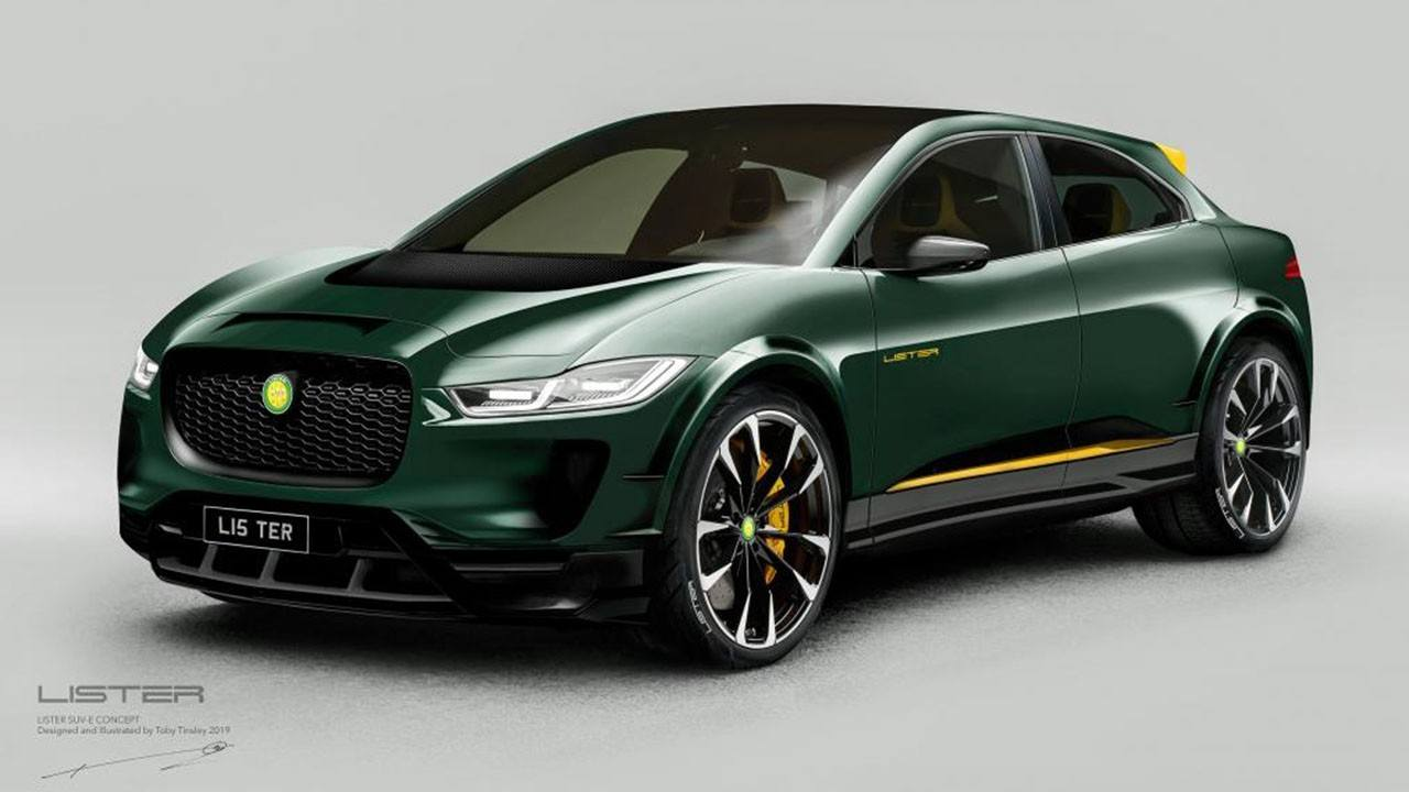 El Jaguar I-Pace se radicaliza y se transforma en el Lister SUV-E Concept