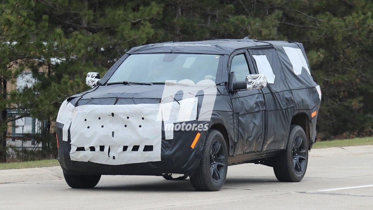 El desarrollo del nuevo Jeep Wagoneer avanza, ¡cazado un prototipo!