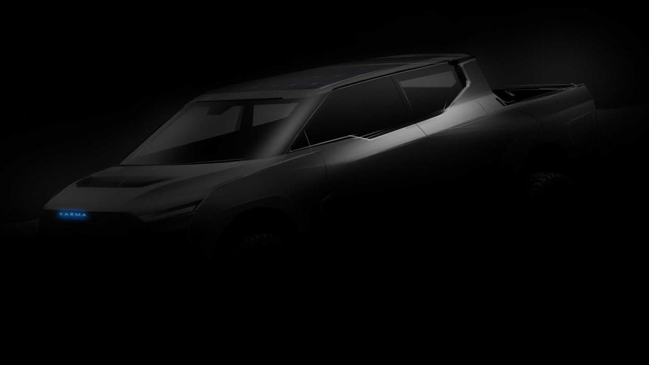 Karma Automotive también anuncia un nuevo pick-up eléctrico