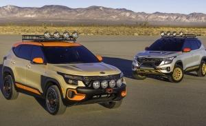 Kia Seltos X-Line Concept, sacando a relucir su lado más aventurero