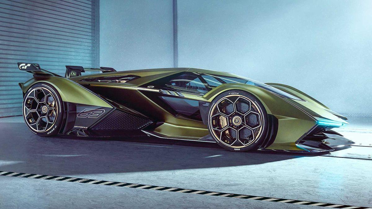 Lamborghini desvela el radical Lambo V12 Vision Gran Turismo Concept