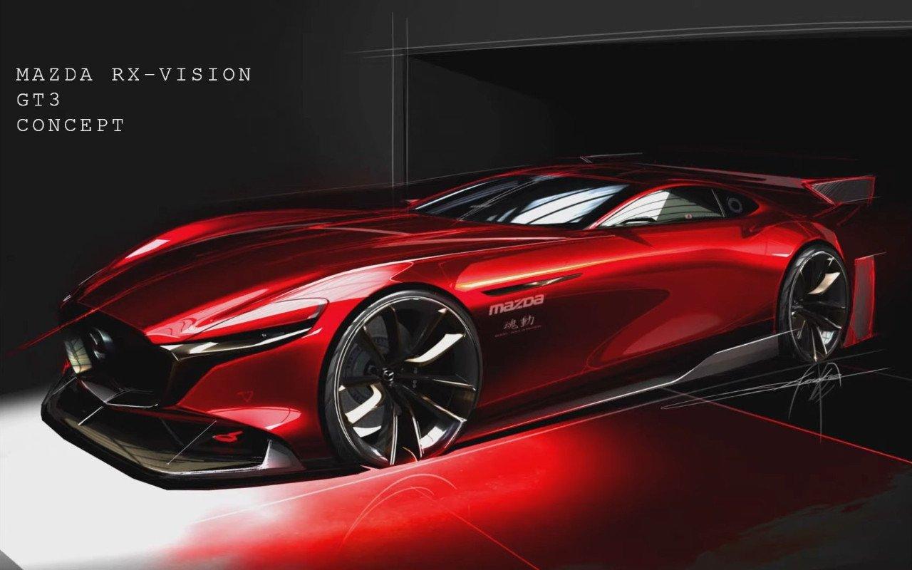 Mazda presenta la primera imagen del nuevo RX-Vision GT3 Concept