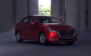 Mazda2 Sedán 2020, puesta a punto para el sedán subcompacto