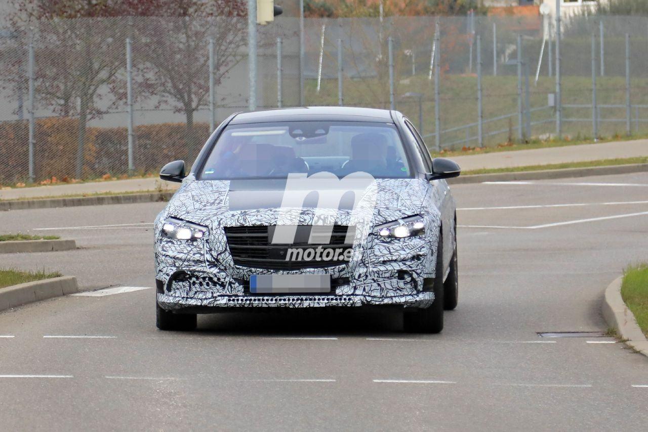 Nuevas fotos espía del Mercedes Clase S 2020 muestran un pequeño destape