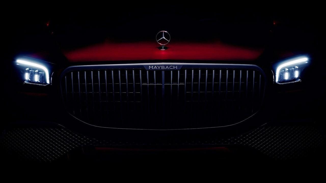 La mirada del nuevo Mercedes-Maybach GLS se vislumbra en este adelanto