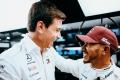 """Hamilton condiciona su futuro en Mercedes al de Wolff: """"No quiero que se vaya"""""""