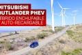 Video: Mitsubishi Outlander PHEV, en acción el SUV híbrido enchufable más completo