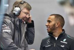 """Brawn admite que dudó de Hamilton: """"Estaba nervioso por cómo enfocaba su profesión"""""""
