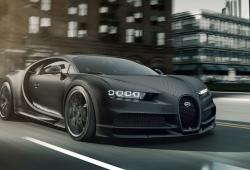 Bugatti Edition Chiron Noir: 20 unidades inspiradas por La Voiture Noire