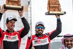 """Alonso: """"Han sido cuatro buenos días de preparación para el Dakar"""""""