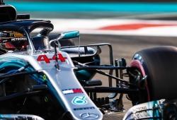 Hamilton cierra la temporada 2019 con su quinta pole en Yas Marina