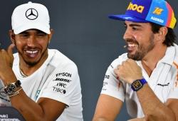 Hamilton, conmovido por las felicitaciones de Fernando Alonso y Ron Dennis