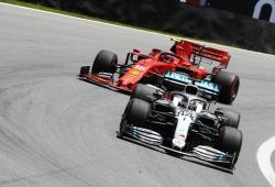 """Hamilton: """"Nos falta potencia en comparación con Red Bull y Ferrari"""""""