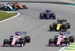 """Racing Point hace balance de la temporada: """"Decepcionante, no es lo que queríamos"""""""