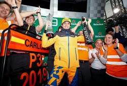 """Sainz consigue el 100º podio español en la Fórmula 1: """"Aún no lo asimilo"""""""