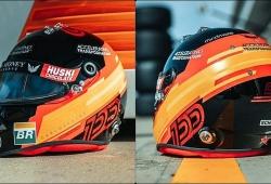 """Sainz estrena casco por su 100º Gran Premio: """"Orgulloso, lo mejor está por llegar"""""""