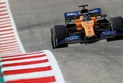 """Sainz predice """"un fin de semana complicado para McLaren"""" y critica los Pirelli de 2020"""