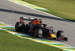 "Verstappen arrasa en Interlagos: ""Ha sido muy divertido pilotar el Red Bull"""