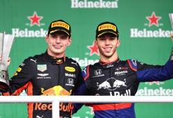 """Verstappen reivindica la calidad de Gasly: """"Siempre supe que era muy rápido"""""""