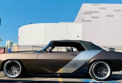 Xing Mobility presenta un Chevrolet Camaro de 1969 totalmente eléctrico