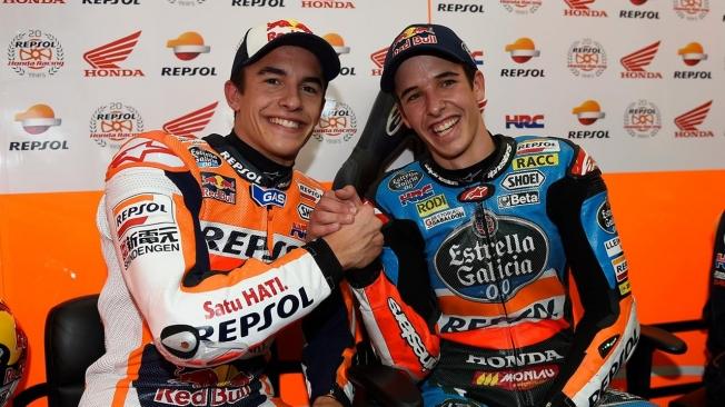 Álex Márquez llega a MotoGP con el equipo Repsol Honda