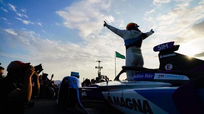 Alex Sims es el primer líder de la temporada 2019-20 de la Fórmula E