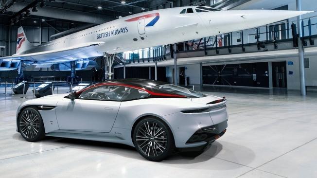 Aston Martin DBS Superleggera Concorde Edition - posterior