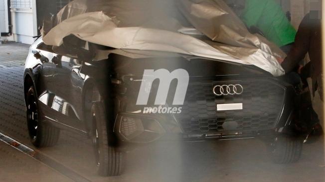 Audi A3 Sedán 2020 - foto espía