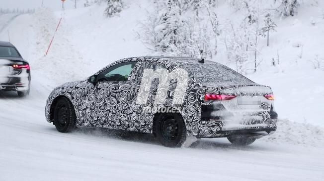 Audi A3 Sedán 2020 - foto espía posterior