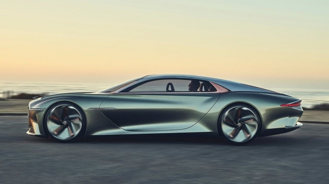 Bentley 100 EXP GT Concept - lateral