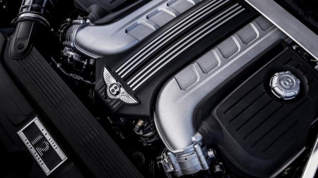 Motor W12 de Bentley
