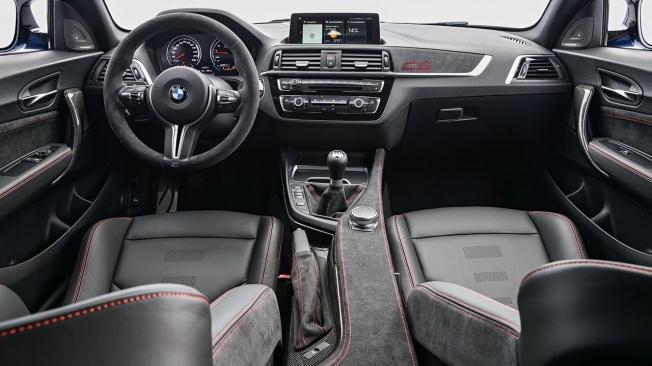 BMW M2 CS - interior