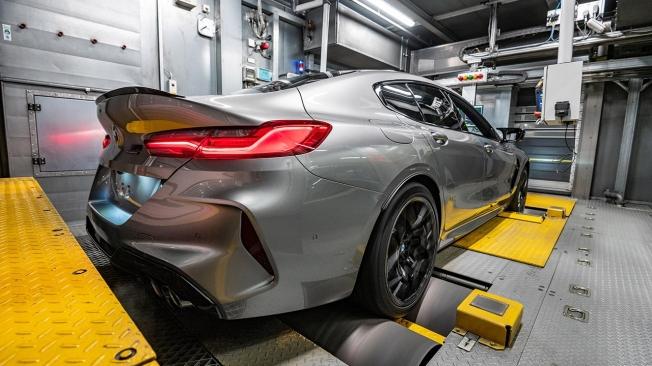 Producción del BMW M8 Gran Coupé
