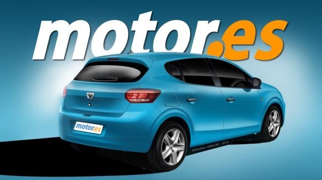 Recreación del Dacia Sandero 2020