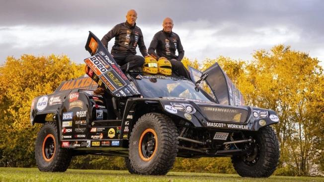 Dakar 2020: Los hermanos Coronel presentan su 'The Beast 3.0'